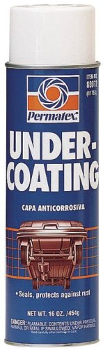 Permatex 80072-12PK Undercoating - 16 oz., Pack of 12