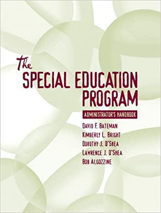 Special Education Program Administrator's Handbook