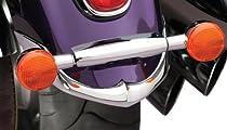 National Cycle Rear Chrome Fender Tips for 2001-2008 Suzuki VL800 Volusia/C50 B