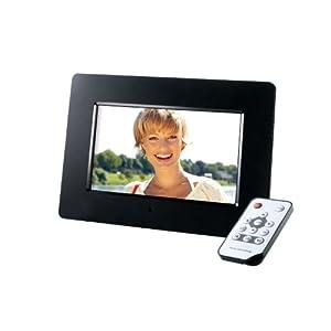 Intenso Photoagent Digitaler Bilderrahmen (16,79cm (7 Zoll) Display, SD/SDHC/MMC/MS Slot, 16:10, Fernbedienung)