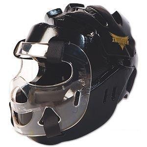 ProForce Thunder Full Headgear w/ Shield - Black - Large