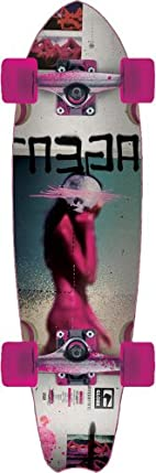 Globe Hg Ungu Crusier Board (White/Pink, 28-Inch) at Sears.com