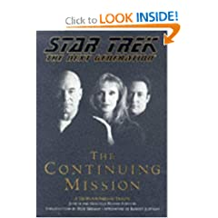 Star Trek The Next Generation:  The Continuing Mission by Judith Reeves-Stevens and Garfield Reeves-Stevens