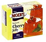 Moirs Cherry Jelly 80g Box