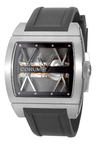 Corum Ti-Bridge Titanium Skeleton Dial Automatic Mens Watch 007.400.06/F371 0000