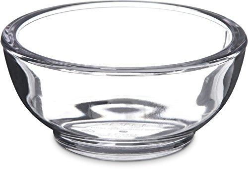 Carlisle 083107 SAN Souffle Cup, 2.5 oz Capacity, Clear (Case of 144)