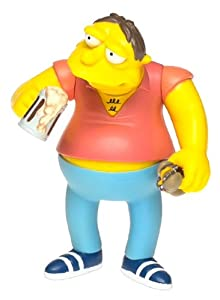 The Simpsons Wave 2 Action Figure Barney Gumble from Playmates