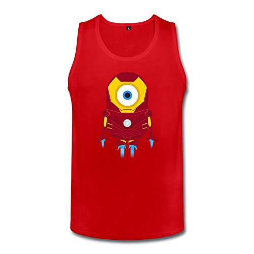 WAYNEY Juniors The Avengers Tony Stark Iron Man Despicable Me Minions Tank Tops