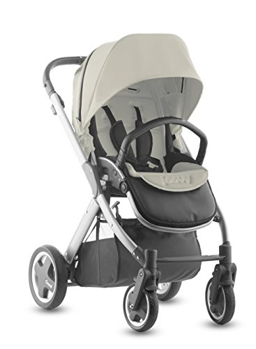 Joovy Qool Silver Single Stroller, Vanilla back-525808