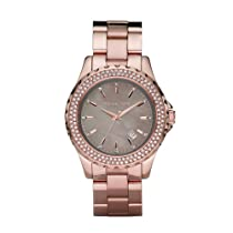 Michael Kors Runway Grey Mother of Pearl Ladies Watch MK5453