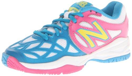 New Balance Kc996 Tennis Shoe (Little Kid/Big Kid),Pink/Blue,6 M Us Big Kid
