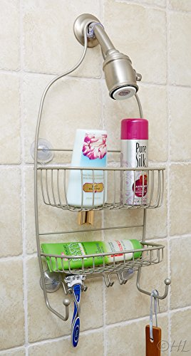 Handy laundry shower caddy rust proof stain home garden for Non rust bathroom accessories