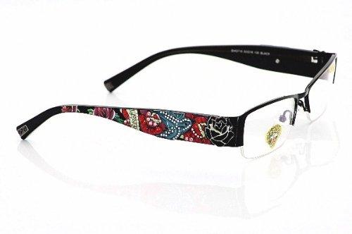 Eyeglass Frames Ed Hardy : ED HARDY EHO716 Eyeglasses EHO-716 Black Optical Frames ...