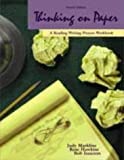 img - for Thinking on Paper: A Reading-Writing Process Workbook book / textbook / text book