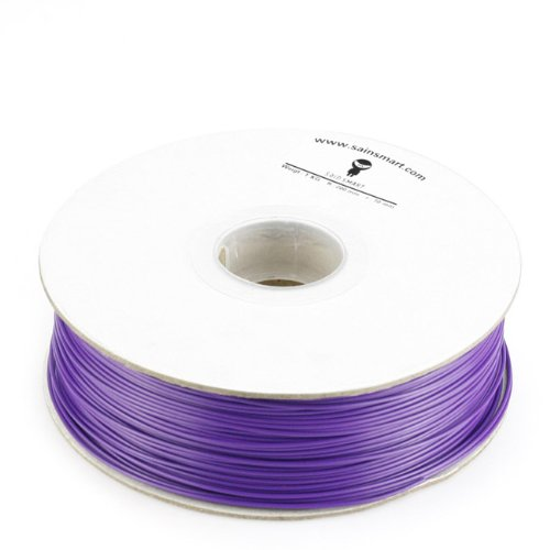 SainSmart 1.75mm imported PLA Filament 1kg/2.2lb purple for 3D Printers Reprap, MakerBot Replicator 2, Afinia, Solidoodle 2, Printrbot LC, MakerGear M2 and UP!(Afinia H-Series)