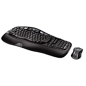 41F0XKX8YSL. SL500 AA280  Logitech Cordless Desktop Wave Set   $50 Shipped
