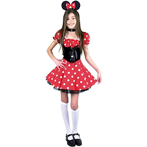 CHILD Small 6-8 - Cute Little New Miss Mouse Costume