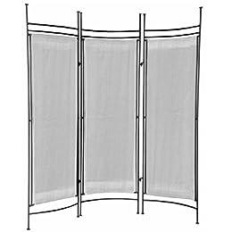 Target iron bamboo privacy screen panel garden fencing for Canvas privacy screen outdoor
