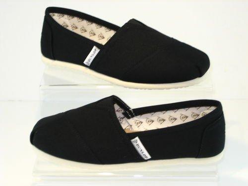 Dunlop New Womens Flat Canvas Espadrilles Plimsoles Pumps Deck Shoes