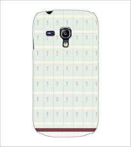 PrintDhaba Pattern D-1787 Back Case Cover for SAMSUNG GALAXY S3 MINI (Multi-Coloured)