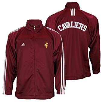 Cleveland Cavaliers NBA Basketball Youth Track Jacket, Wine Red by adidas