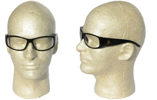 Elite Safety Spectacles Style: Lens Tint:Clear, Lens Coating/Shade:Anti-Fog