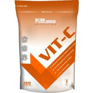 Pure Source Nutrion Pure Vitamin C 60 Tablets
