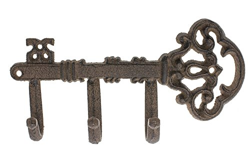 """Decorative Wall Mounted Skeleton Key Holder 