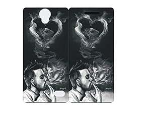 Techno Gadgets Back Cover for Intex Aqua Dream 2