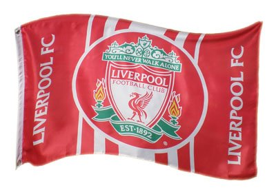 Liverpool F.C. 5ft x 3ft Flag