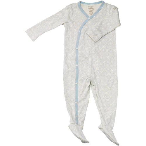 Petunia Pickle Bottom Footed Union Suit - Pixel Perfect (6-12 Months)