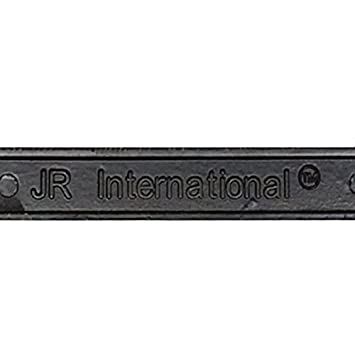 Grey JR2 500 Super Bling Grey Glass Crystals Black Metal License Plate Frame+Free Caps