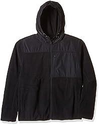 Nautica Men's Synthetic Sweatshirt (8907259499017_NTK533930TB_X-Large_True Black)