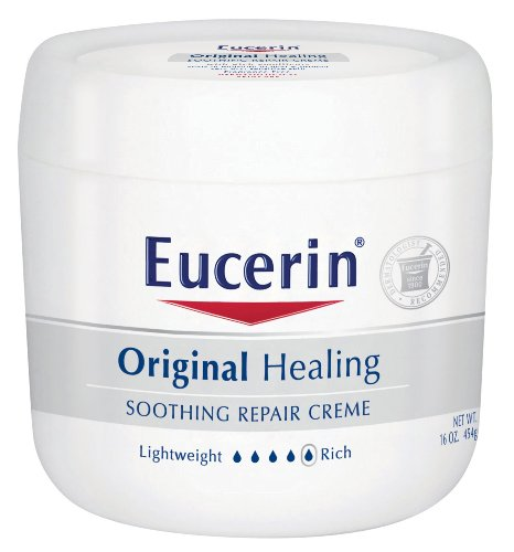 Eucerin Original Healing Soothing Repair Creme, 16-Ounce Jars (Pack of 2) Promo Offer