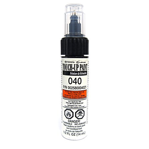 Genuine Toyota 00258-00040-21 White Touch-Up Paint Pen (1/2 fl oz, 14 ml) (Toyota Camry Paint compare prices)