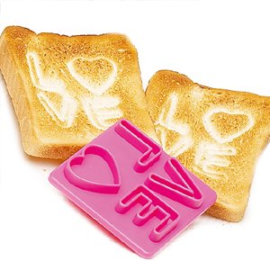 LOVE Toast Stamp