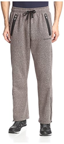 Free Country Men's Snow Fleece Open Pant, Deep Charcoal, XL