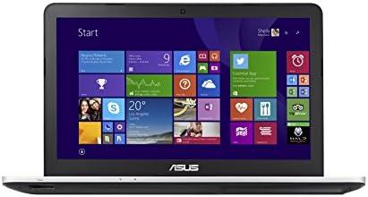 """Asus Multimédia N551JX-DM140H PC Portable15,6"""" Argent (Intel Core i7, 8 Go de RAM, Disque dur 1 To, Nvidia GeForce GTX 950M, Mise à jour Windows 10 gratuite)"""