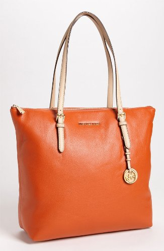 Michael Kors Jet Set Large Tote PERSIMMON