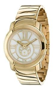 Pierre Cardin PC102482F02 - Reloj de mujer de cuarzo, correa de acero inoxidable color oro