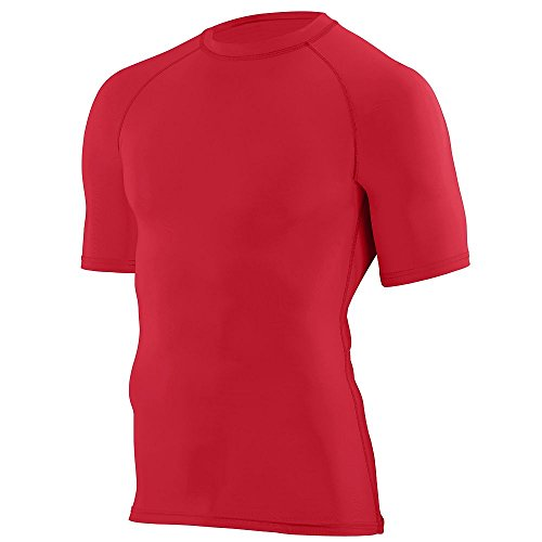 Augusta Sportswear 2601 Boy's Hyperform Compression S/S Shirt Red S