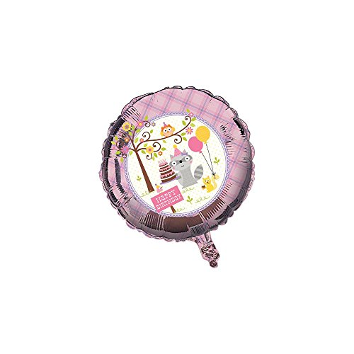 Happi Woodland Girl Foil Balloon - 1