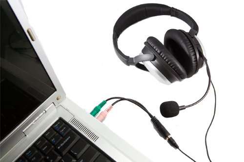 Clearmic Plus Noise-Canceling Boom Microphone With Inline Remote For Pcs