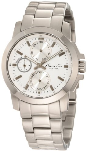 Kenneth Cole New York Women's KC4816 Dress Sport Silver Multi-Function Bracelet Watch