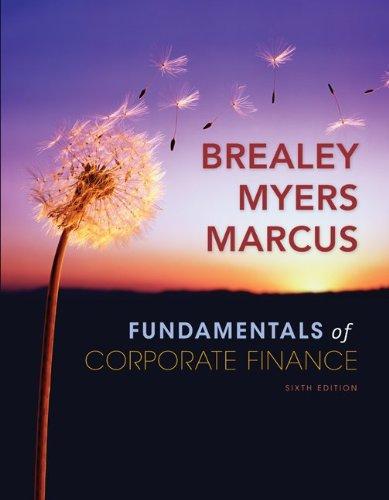 Fundamentals of Corporate Finance (McGraw-Hill/Irwin...