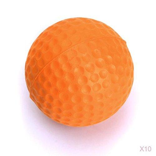 10 Stk. Golfball Übungsbälle Golf Training Soft Softbälle