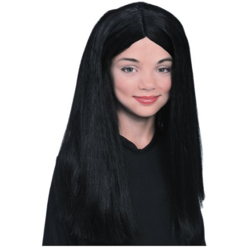 Morticia Addams Wig Costume Accessory