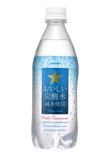Sapporo delicious carbonated water 500ml×24 books