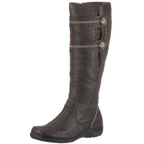 Rieker Women's Astrid 79970 Brown Knee High Boot