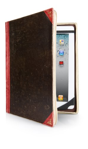Twelve South (12-1015) Bookbook For Ipad In Red (3Rd Generation Ipad, Ipad 1, And Ipad 2)